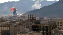 Йемен, бомбежка, мировые новости, конфликт