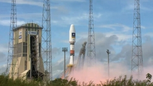 "Россия, Европа, Космос, Спутники, Система Galileo, Ракеті ""Союз-СТ-Б""."
