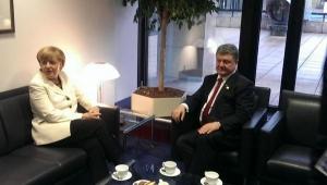 ангела меркель, ситуация в украине, юго-восток украины, петр порошенкко, новости украины