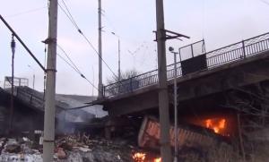 путиловский мост, донецк, обрушение