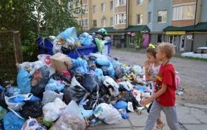 Садовой, Львов, мусорный коллапс, чрезвычайная ситуация, эвакуация детей