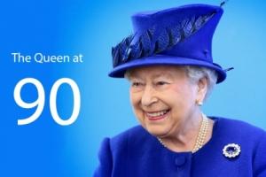 королева, англия, британия, 90 , лет, елизавета
