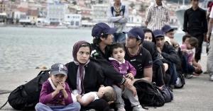 беженцы, Греция, Македония, граница