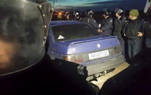киев, днепровский район, милиция, протест, строительная площадка