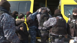 Казахстан, Нурсултан, Алматы, Назарбаев, Задержания, Полиция.