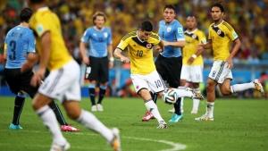 фифа, хамес родригес, сборная колумбии по футболу, сборная уругвая по футболу, чм-2014, лучший гол чм-2014, бразилия