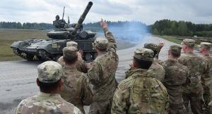 НАТО, военные учения, армия Украины, ВСУ, Германия, танки, БМП, Украина