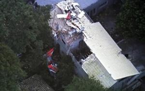 бразилия, вертолет, крушение, общество, происшествия