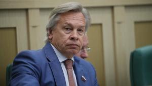 Пушков, сенатор, Россия, Украина, Херсон, скандал, заявление