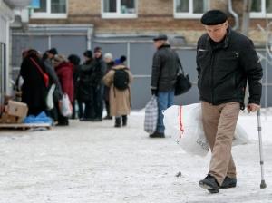 киев, помощь переселенцам, крым, донбасс, юго-восток украины, общество, новости украины