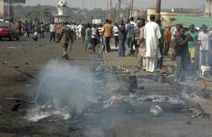 нигерия, смертница, происшествия, общество, иносми
