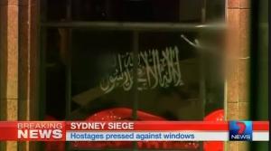 сидней, австралия, заложники, теракт, флаг, игил