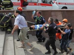 Москва, происшествия, авария в метро