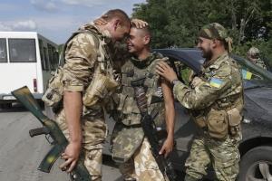 Плен, военные, силы, АТО, ДНР, освобождение