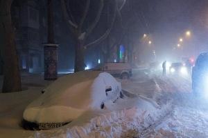 одесса, спасатели, военные, снегопад, заносы, трасса
