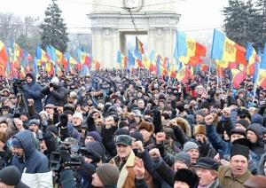 молдова, протесты