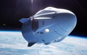 илон маск, космос, запуск, мкс, корабль Crew Dragon, видео