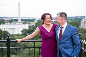 Вашигтон, Волкер, свадьба, США, посол, Чалый, Голос Америки, журналистка, Ие Меурмишвили