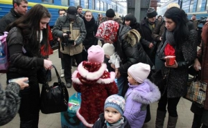 Украина, война в Донбассе, АТО, беженцы, переселенцы, восток Украины