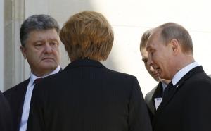 Франсуа Олланд, Ангела Меркель, германия, франция, россия, политика, владимир путин, украина ,петр порошенко