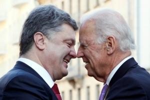 Порошенко, Байден, минские переговоры, мир в Украине, война в Донбассе, юго-восток Украины, политика, Украина, Россия, ДНР, США