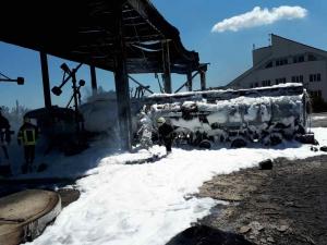 Украина,  одесса, пожар, нефтебаза, происшествия