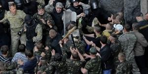 ВР УКРАИНЫ, общество, митинг, киев, украина, политика, происшествие