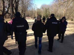 украина, крым, шевченко, акция, общество, симферополь, правоохранители