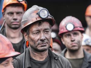 Украина, Киев, Шахтеры, Протест, Зарплаты, Долг.