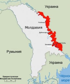 Украина, Приднестровье, граница