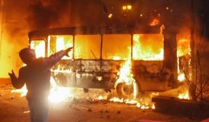 горловка, автобус, взрыв
