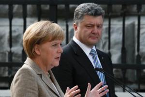 порошенко, меркель, чалый, украина, политика, германия, сша, обама