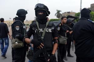 египет, блокпост полиции, теракт, взрыв, гибель полицейских, происшествия, видео