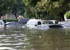 Италия, наводнение, природные катастрофы