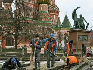 трудовые мигранты, гастарбайтеры, россия