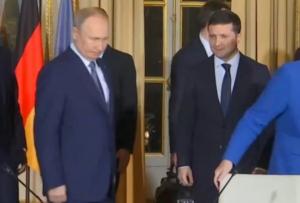 Россия, Украина, Песков, Зеленский, Путин, Нормандский формат, переговоры.