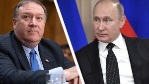 Россия, Путин, Помпео, Лавров, Переговоры