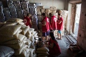 луганск, гуманитарная помощь, доставка