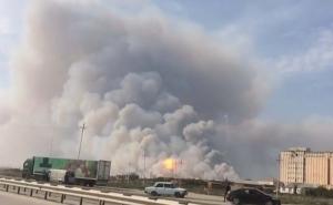 азербайджан, взрыв, пострадавшие, жертвы, кадры, фото, видео, эвакуация, ракеты, оружейный склад, происшествия