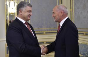 украина, польша, независимость, порошенко, марцевич, встреча
