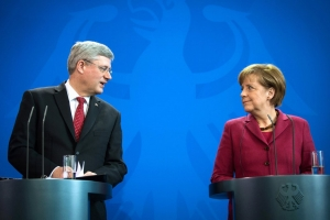 ангела меркель, германия, канада, стивен харпер, донбасс, политика, восток украины