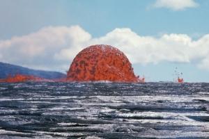 США, Гавайи, вулкан, Килауеа, извержение, лавовый шар, кадры, видео, фото