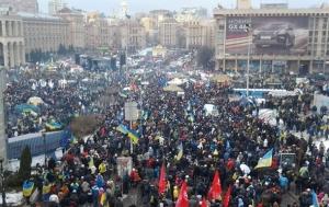 Киев, майдан, вече