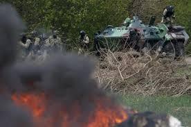 АТО, Донбасс, ДНР, Пантелеймоновка, бой, силы АТО