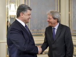 порошенко, италия, политика, общество, ассоциация с ес