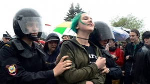 Навальный, Козлова, Тимофей, митинг, День России, Москва, Россия, новости, соцсети, подростки, школьники, оппозиция