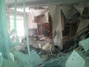 Обстрел, Донецк, площадка, квартира
