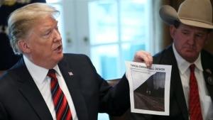 США, Дональд Трамп, чрезвычайное положение, Конгресс, шатдаун, стена