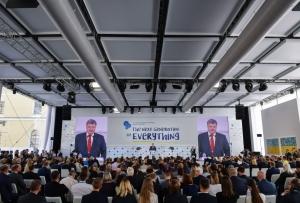 смотреть видео, порошенко, россия, путин, выступление, ялтинская европейская стратегия, встреча, до свидания ласковый миша