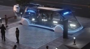Илон Маск, наука, Hyperloop, новости, техника, инновации, автобус будущего